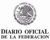 Logo Diario Oficial de la Federación