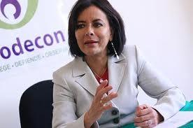 """""""Para la Procuraduría de la Defensa del Contribuyente es un alto honor y una especial distinción, la firma de este convenio de colaboración"""", comentó la Procuradora Diana Bernal."""