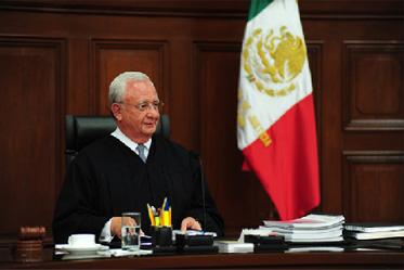 Juan N. Silva Meza, Presidente de la Suprema Corte de Justicia de la Nación y del Consejo de la Judicatura Federal Fotografía: SCJN