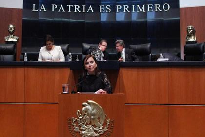 Cristina Díaz Foto: Senado