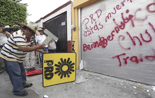 Maestros opositores han causado grandes disturbios Foto: Cuartoscuro