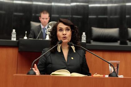 Dolores Padierna Foto: Senado