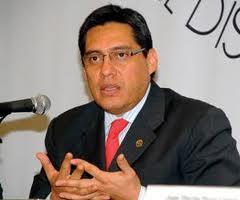 Luis González Placencia pidió no criminalizar  a las personas migrantes que pasan por Tultitlán Foto: Animal Político