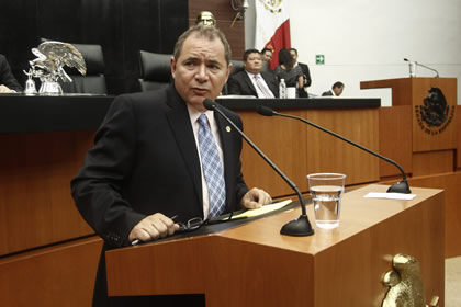 Blásquez Salinas Foto: Senado