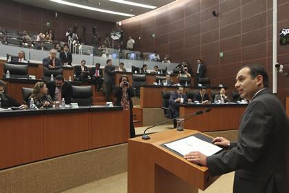 Ernesto Cordero Foto: Senado