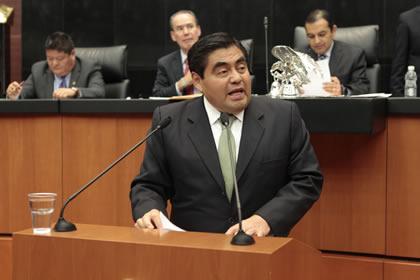 Miguel Barbosa Foto: Senado