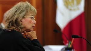 Ministra Olga Sánchez Cordero de García Villegas Foto: Noticeros Televisa