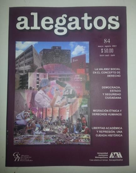 El número 84 de Alegatos mantiene con el objetivo planteado desde hace 27 años Foto: Mónica Muñiz