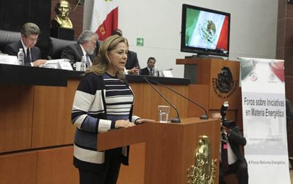 Graciela Ortiz Foto: Senado