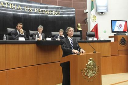 Luis de la Calle Foto: Senado