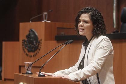 Mariana Gómez Foto: Senado