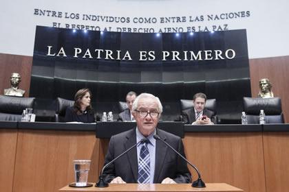 Victor Hermosillo Foto: Senado
