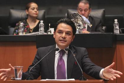 Zoé Robledo Aburto Foto: Senado