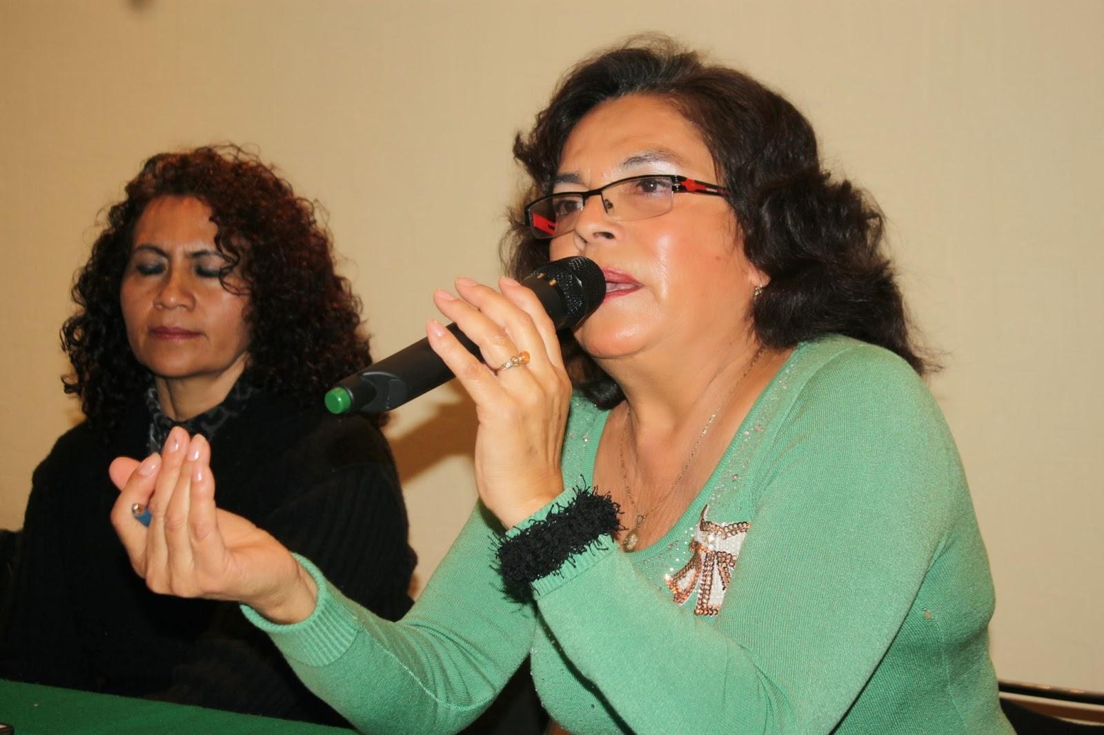 María García Grimaldo, dirigente de la Asociación Civil Comerciantes Unidos La Esperanza, dio a conocer que la Jefa Delegacional en Tlalpan la extorsionó Foto: Difunet
