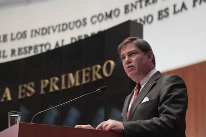 Fernando Mayans Foto: Senado