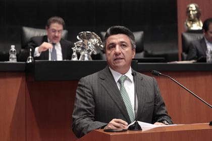 Raúl Pozos Foto: Senado