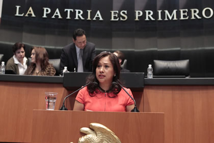 Sonia Mendoza Foto: Senado