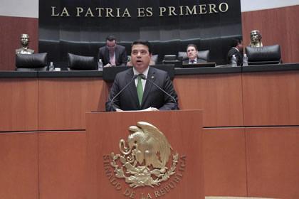 Gerardo Flores Foto: Senado