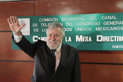 Alejandro Encinas Foto: Senado
