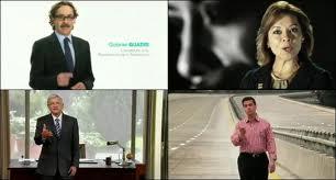 Spots televisivos durante las campañas presidenciales de 2012 Foto: Nuklear Noticias