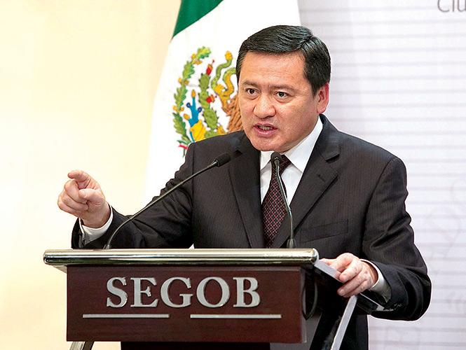 Miguel Ángel Osorio Chong Foto: Excélsior