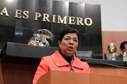 Marta Palafox Foto: Senado