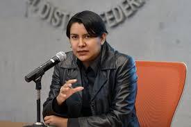 Perla Gómez Gallardo, presidente de CDHDF Foto: El Universal