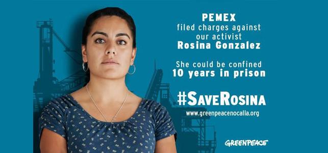 Rosina González Foto: Greenpeace